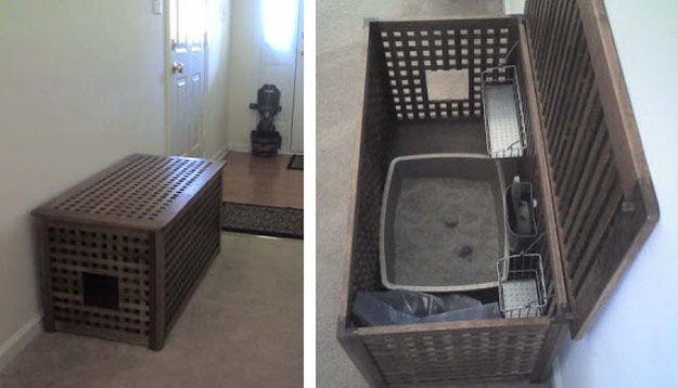 24 litter boxes ideas cat litter cabinet diy