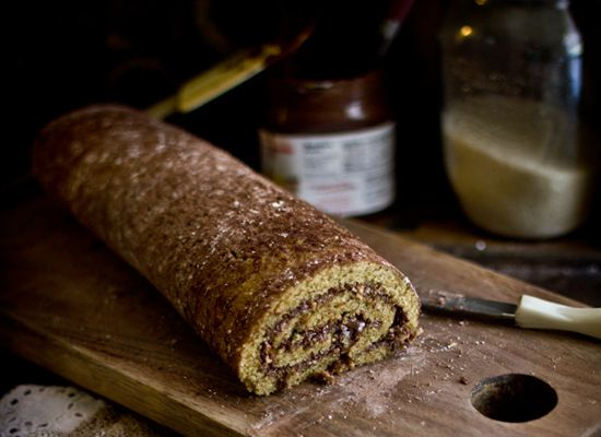 roasted hazelnut nutella roulade a rich and nutty recipe for a roasted ...