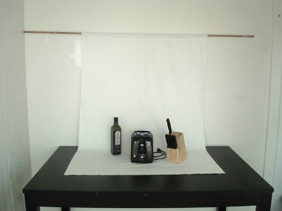 Make Your Own Fabric Backdrop