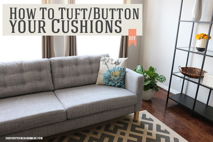 Turf/Button Your Cushions