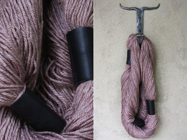 Stylish No Knit Yarn Scarf
