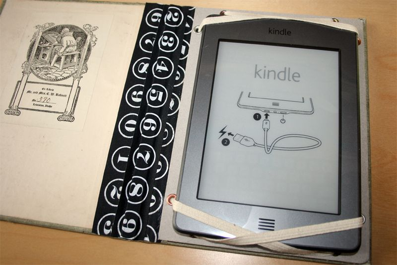 Old Book Cover Kindle : Awesome diy ideas and tutorials to reuse old books