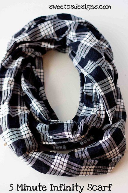 5 Minute Infinity Scarf