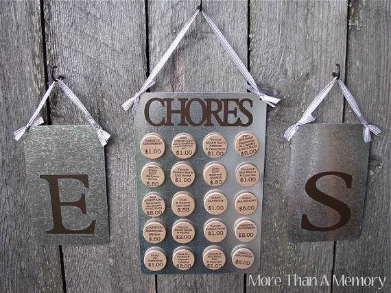 Custom Chore Chart System