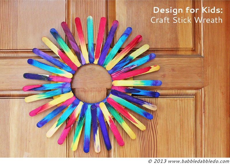 paddle pop stick ideas for christmas