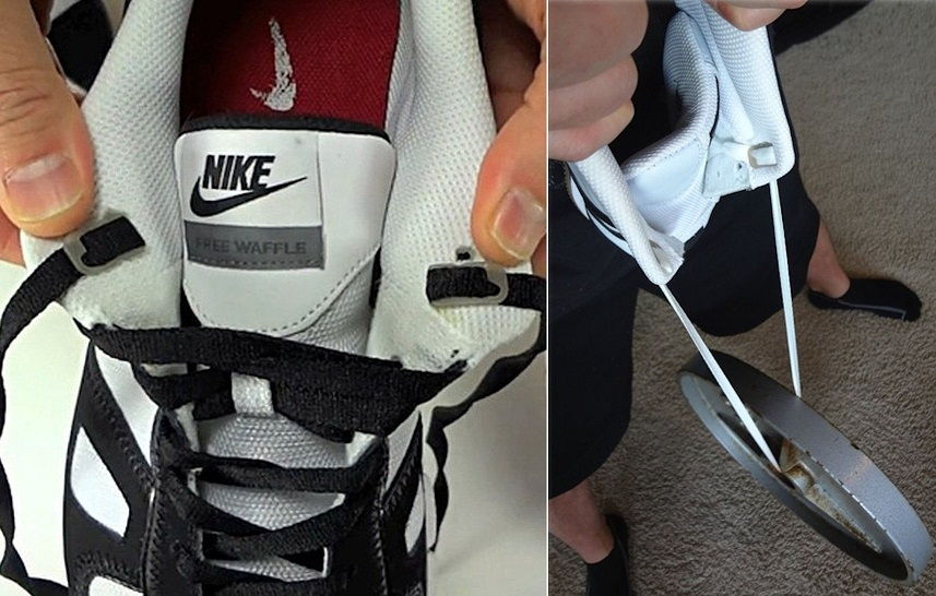 Lace Anchors and never tie your shoelaces again