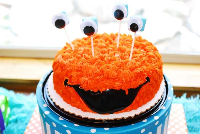 Orange Monster Cake