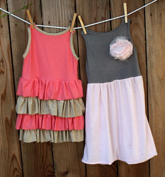 Jersey Baby Dress
