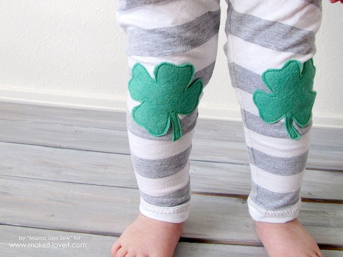 Easy Shamrock Leggings