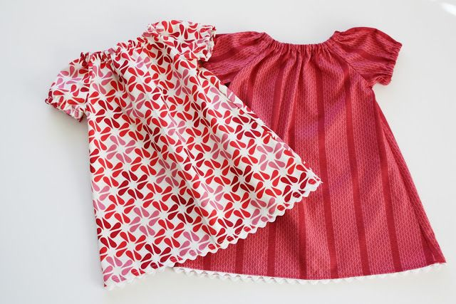 Infant Peasant Dress