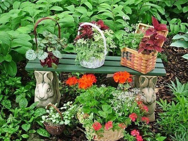 Basket Plant Pots