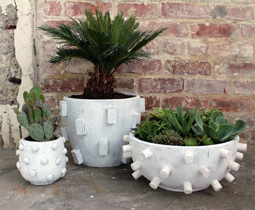 Textured Planters