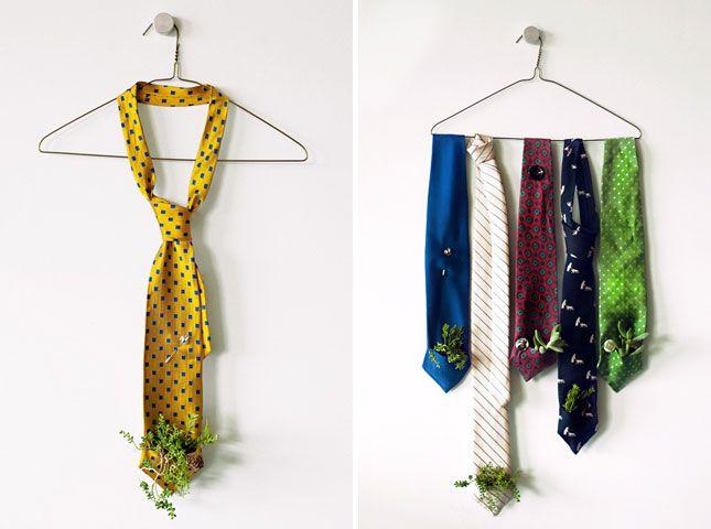 Necktie Vertical Garden