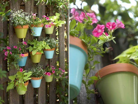 Fence Hanging Pots
