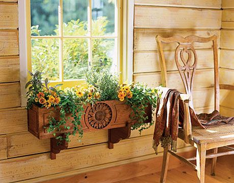 Interior Flower Box