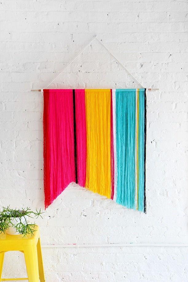 Cotton Yarn Wall Hanging
