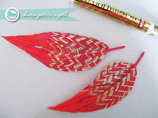 Yarn Feather Tutorial