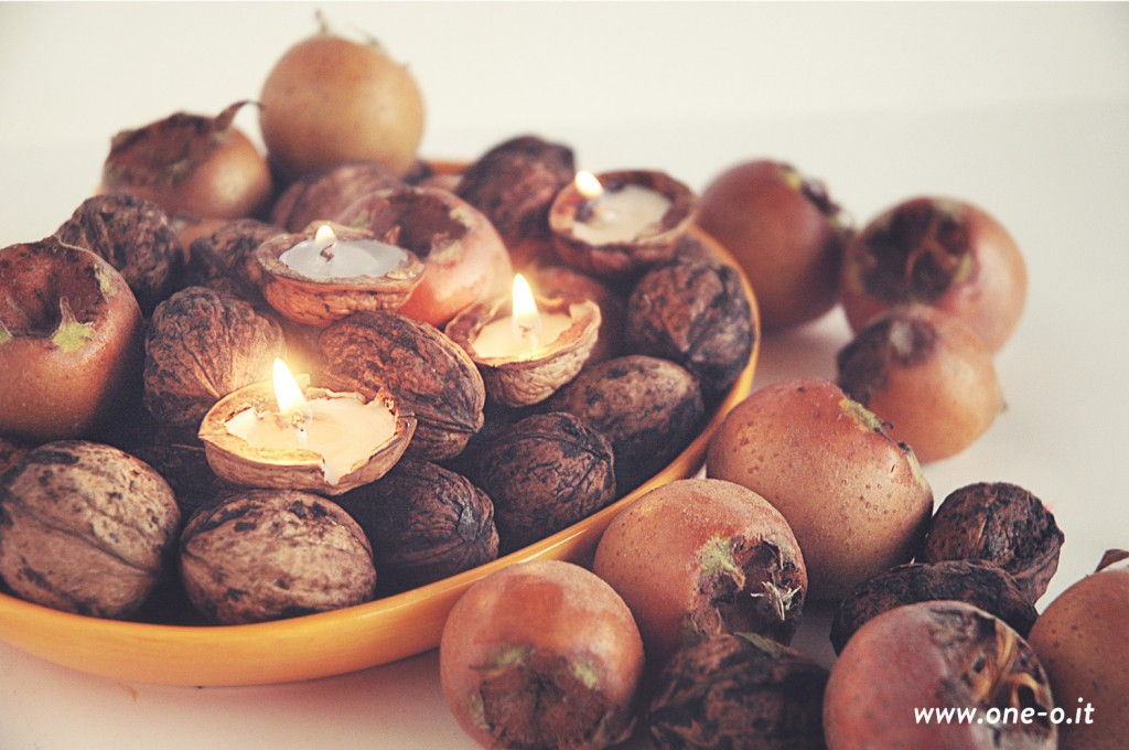 Tealight Nuts Centerpiece