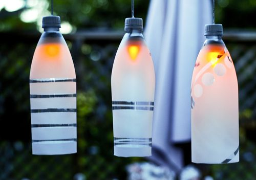 Plastic Bottle Party Light