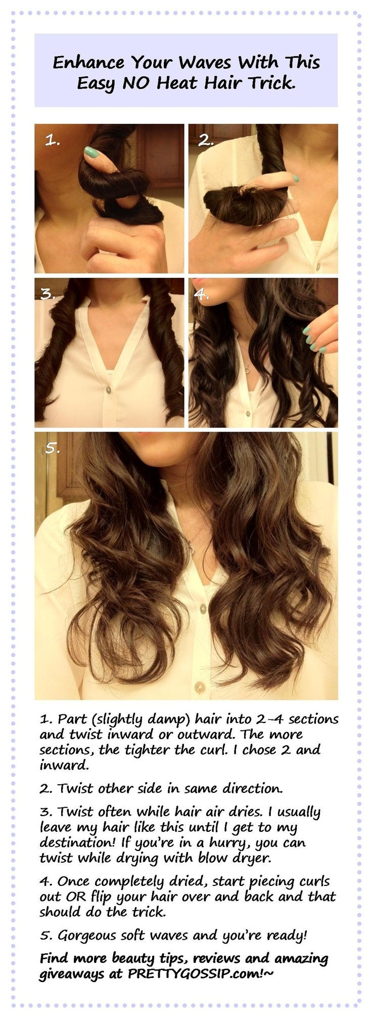 11 Ways To Have Curly Hair Without Heat Listinspired Com Part 2
