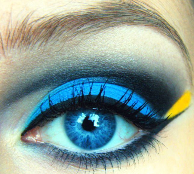 Finding Nemo: Dory Inspired Makeup