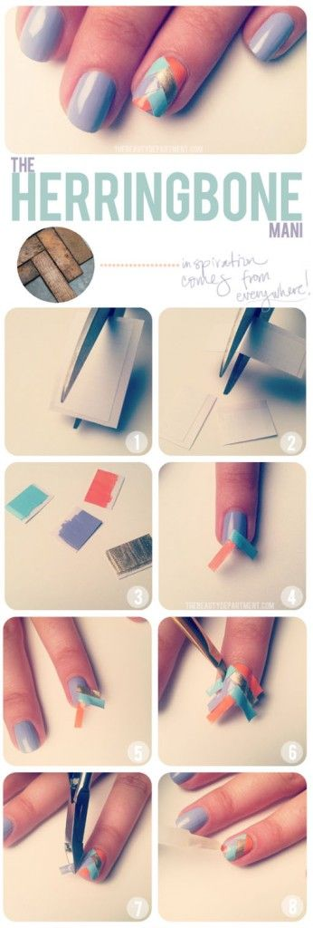 15 Awesome Nail Tutorials For Short Nails – ListInspired.com