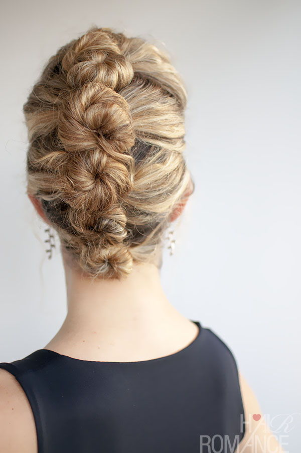 French Roll Twist