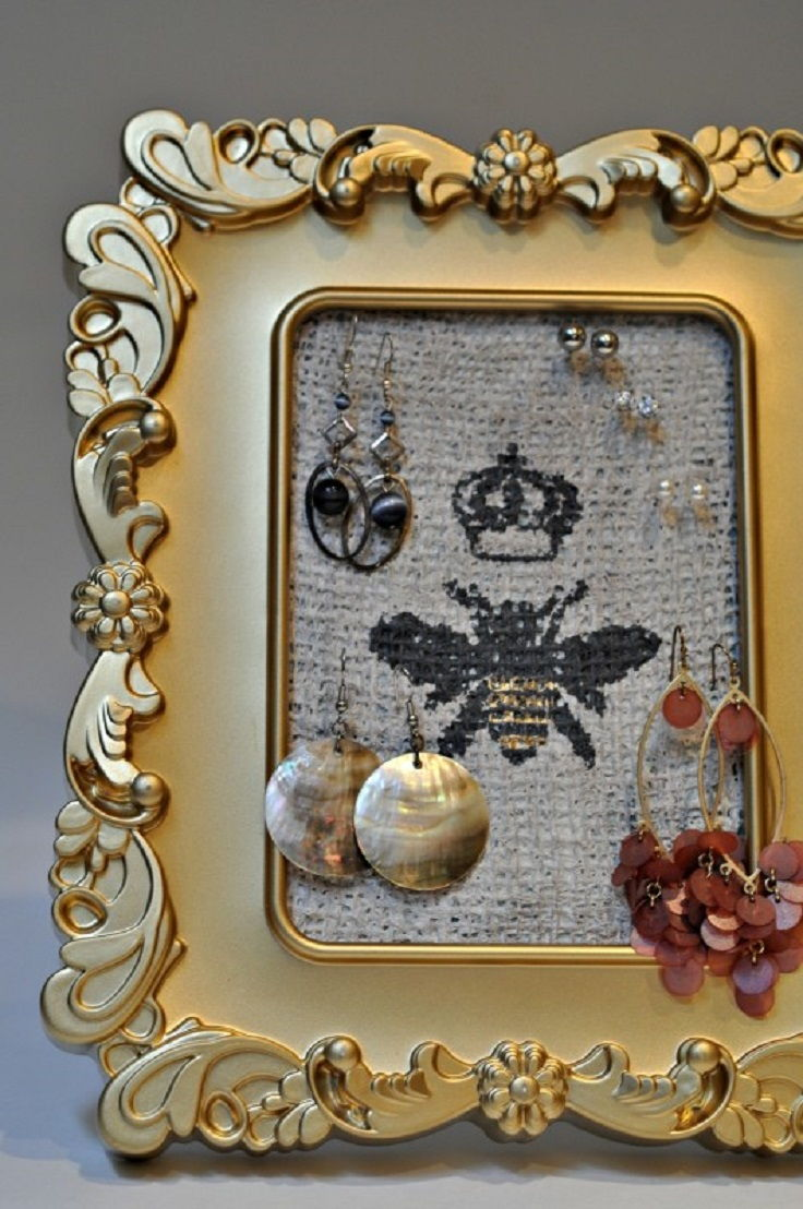 33 clever and decorative ways to keep your jewelry organized page 3 - Clever diy ways keep jewelry organized ...