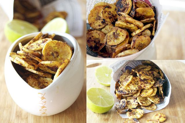 Sweet and Spicy Plantain Chips