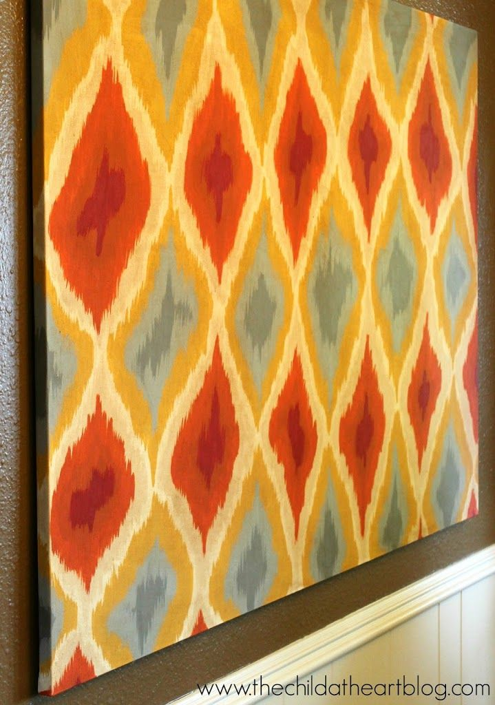 Ikat Canvas