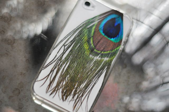 Peacock Feather Phone Case
