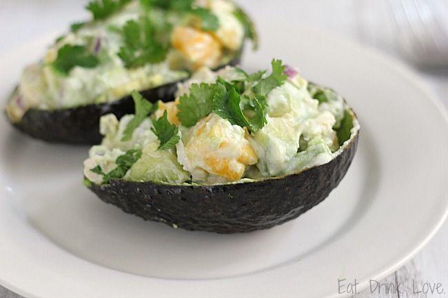 Avocado Mango Chicken Salad