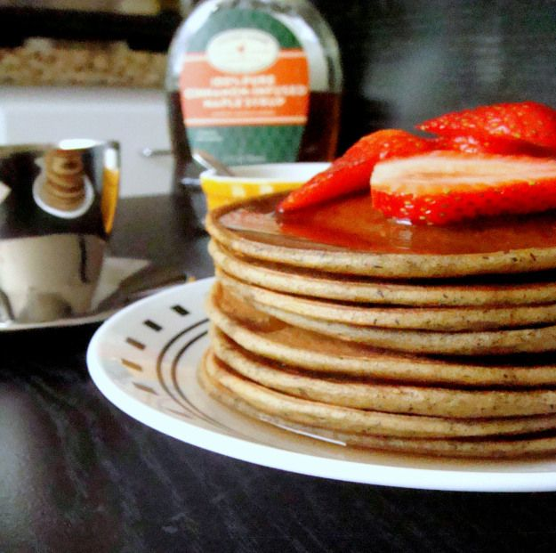 Avocado Buckwheat Pancake