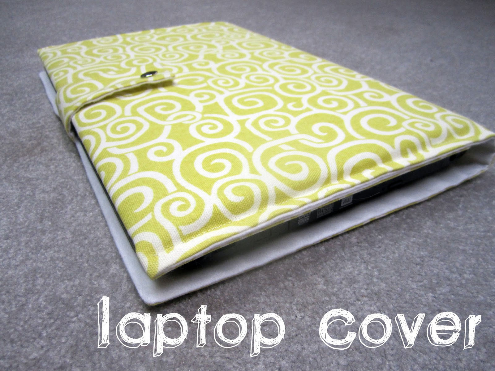Flannel Laptop Cover