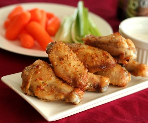Thai Curry Chicken Wings