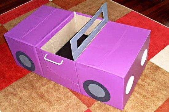 35 Things You Can Make With A Cardboard Box That Will Amaze