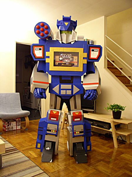 1 Transformers Soundwave Costume