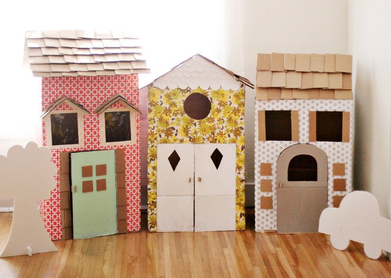 Cardboard Playhouses
