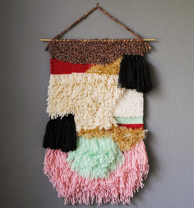 Hand Knotted Wall Hanging
