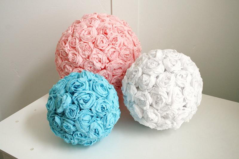 50 sensational crepe paper diy projects page 7 listinspired 31 flower ball mightylinksfo