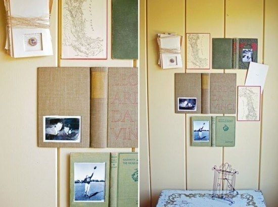 Make a Book Picture Frame