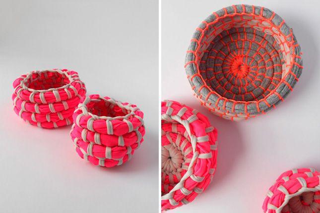 Neon Coil Bowls