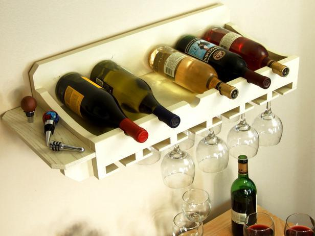 Wine Rack for Bottles and Glasses