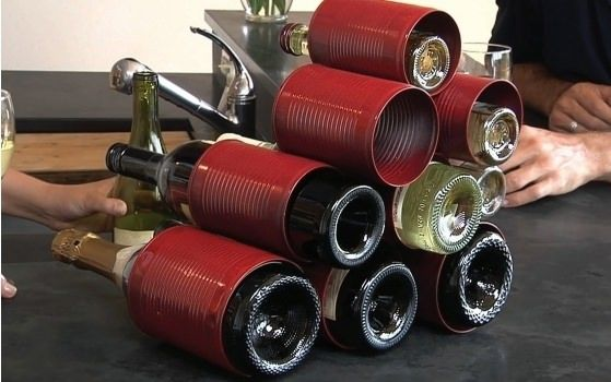 Cans Wine Rack