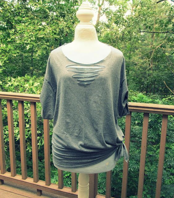 No Sew Triangle Tee-Shirt