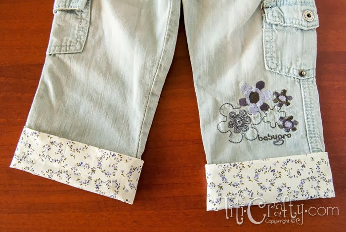 Revamping Kids Pants to Extend Their Life
