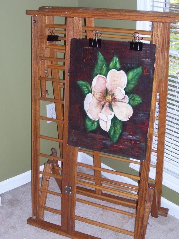Repurpose Old Crib. Art Display With Repurpose Old Crib. Crib To ...