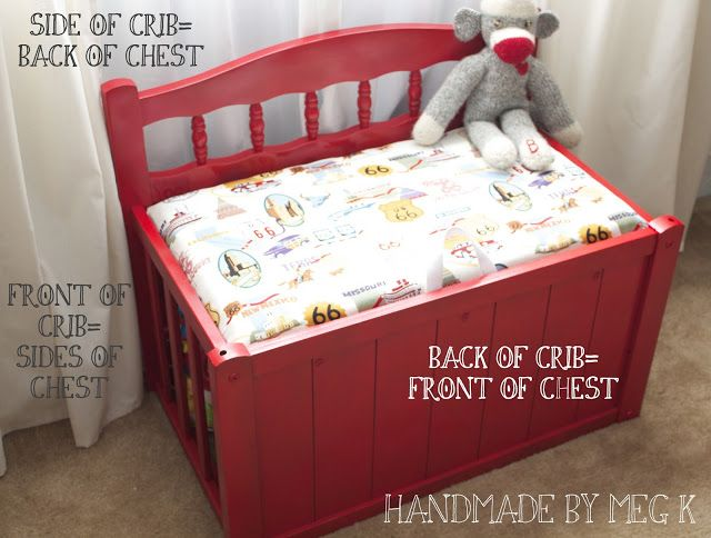 Crib to Toy Chest