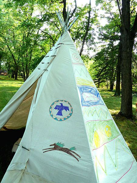 40 amazing teepee diy projects for kids page 6