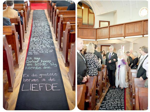 Love Note Aisle Runner
